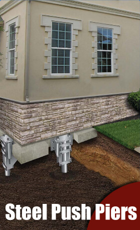 Residential Steel Push Piers for your Atlanta Home