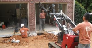 Atlas Piers foundation work on residential properties.